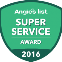 K & B Home Remodelers Earns Esteemed 2016  Angie's List Super Service Award
