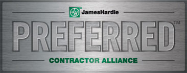 James Hardie siding Preferred Contractor