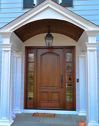 A custom-built Portico by K & B